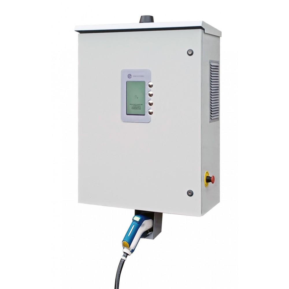 Зарядная станция стандарта Chademo (настенная) с поддержкой OCPP
