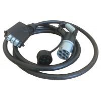 Силовой кабель TYPE2 для подключения электрозарядной станции 25кВт