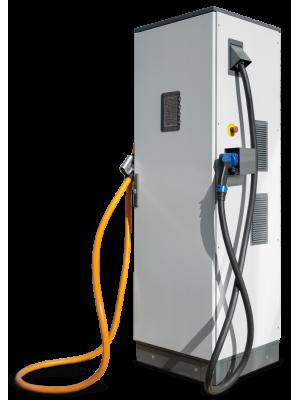 Зарядная станция стандарта Chademo и CCS